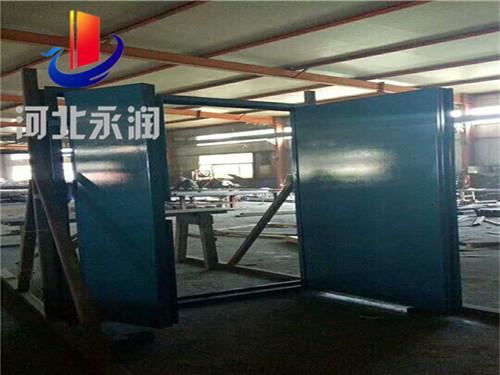 锅炉房的防爆门的安装设计