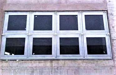 A型泄爆窗