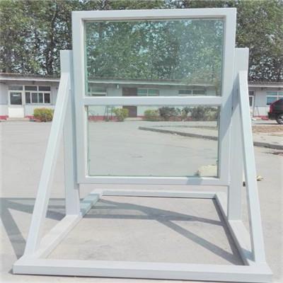 洛阳恒信材料公司安装防爆窗项目