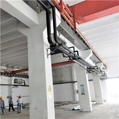 北京房山新能源泄爆墙项目施工现场