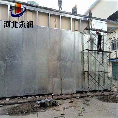 西安建材科技公司安装的防爆墙特点
